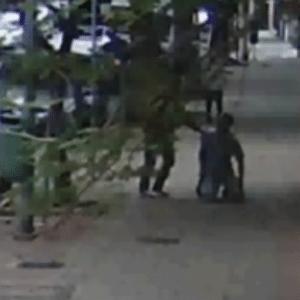 Vídeo mostra homem atirando em funcionário do Colégio Sion em SP