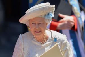 A rainha Elizabeth 2ª, que tinha um discurso para ser lido na eventualidade de uma guerra nuclear.