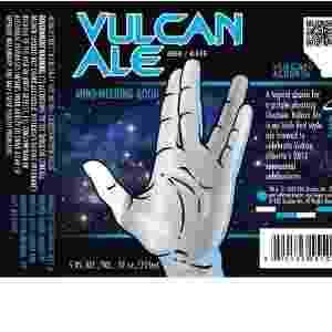 Série de televisão, bandas famosas e outras personalidades têm ganhado cervejas próprias. A empresa canadense DeLancey Direct Incorporated lançou a Vulcan Ale, uma cerveja inspirada no universo da saga Star Trek - Montagem/Reprodução