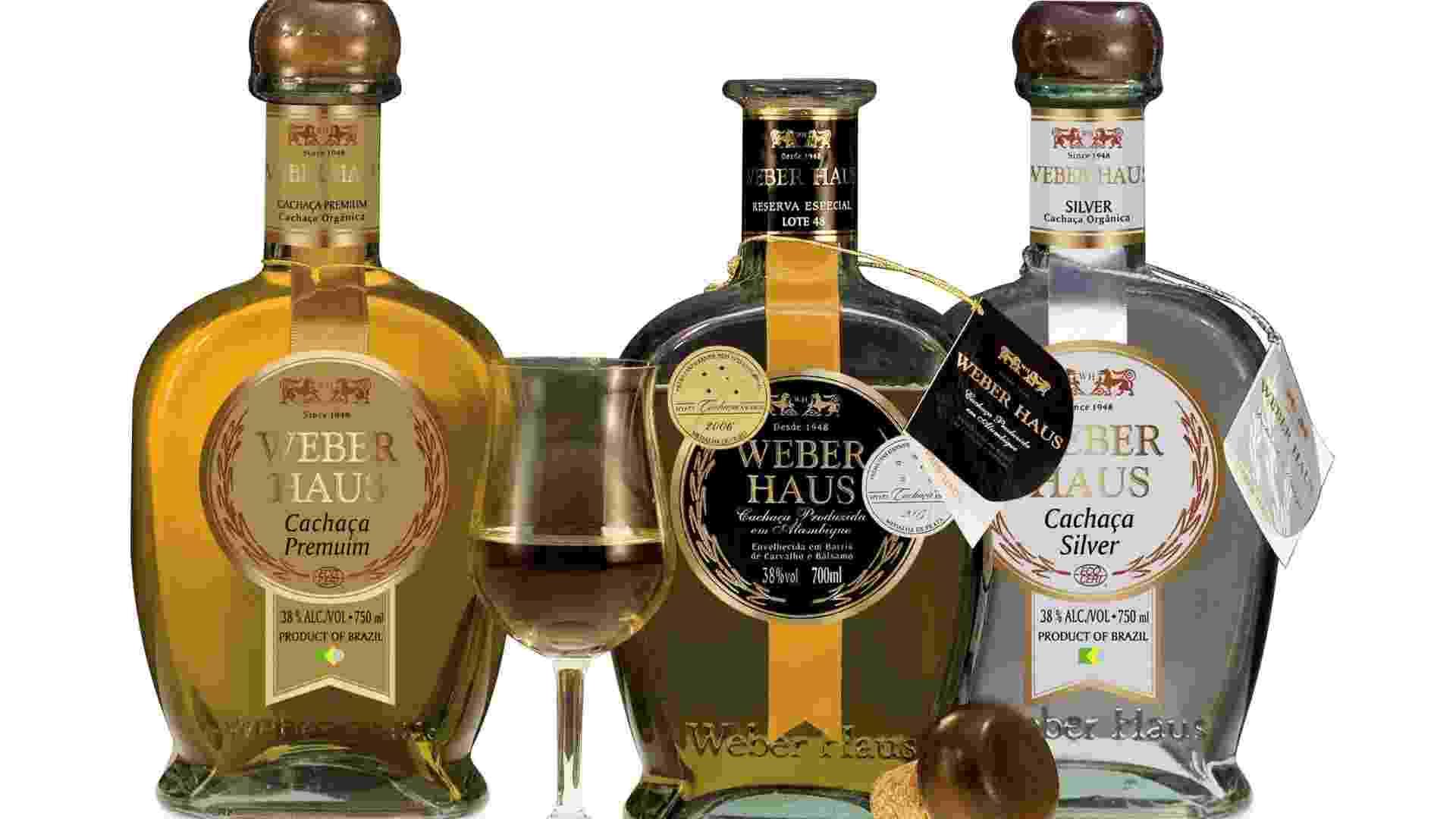 Produtos da destilaria Weber Haus, em Ivoti (RS) - Divulgação