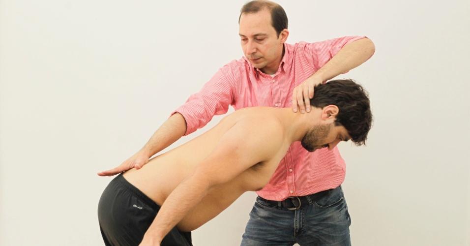 Carlos Barreiros mostra a técnica RPG-RPM
