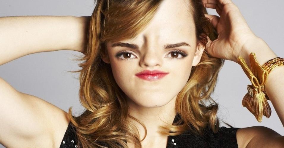 Sloth face Emma Watson