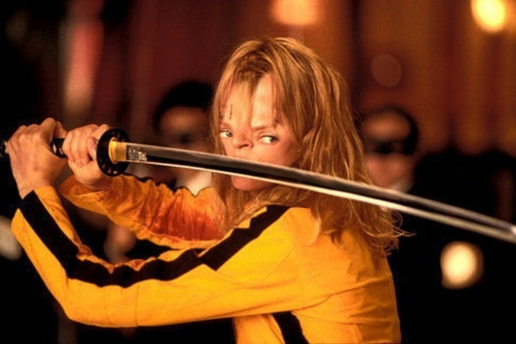 Sloth face Uma Thurman no Kill Bill
