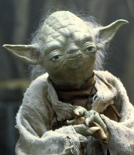 Sloth face Yoda