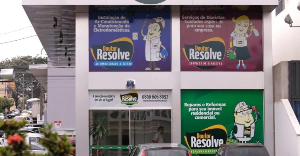Franquia Doutor Resolver serviço de ar-condicionado e eletro