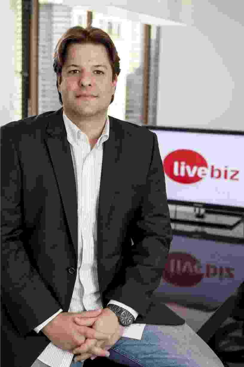 Gustavo Marques, fundador da Live Biz - Divulgação