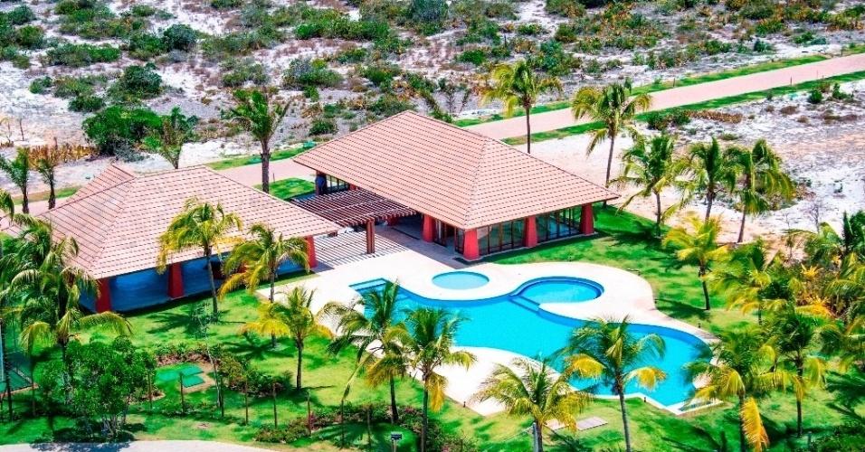 """Condomínio Piscinas Naturais, na praia do Forte (BA), em construção pelo grupo Américo Amorim, do homem mais rico de Portugual, segundo a revista """"Forbes"""""""