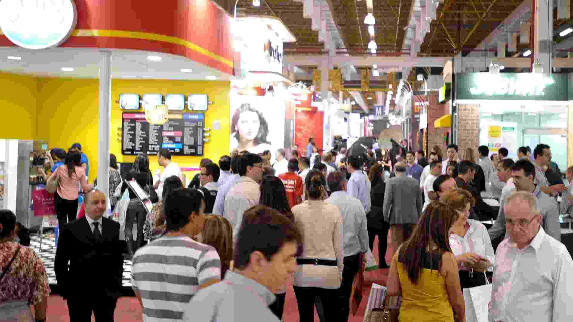 Feira de franquias da ABF 2013, no Expo Center Norte (SP) - Reinaldo Canato/UOL