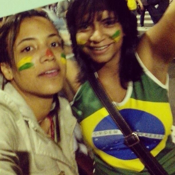20.jun.2013 - Sobre os últimos protestos contra o aumento da tarifa de ônibus em São Paulo, @adiosgabeat escreveu na rede Instagram: