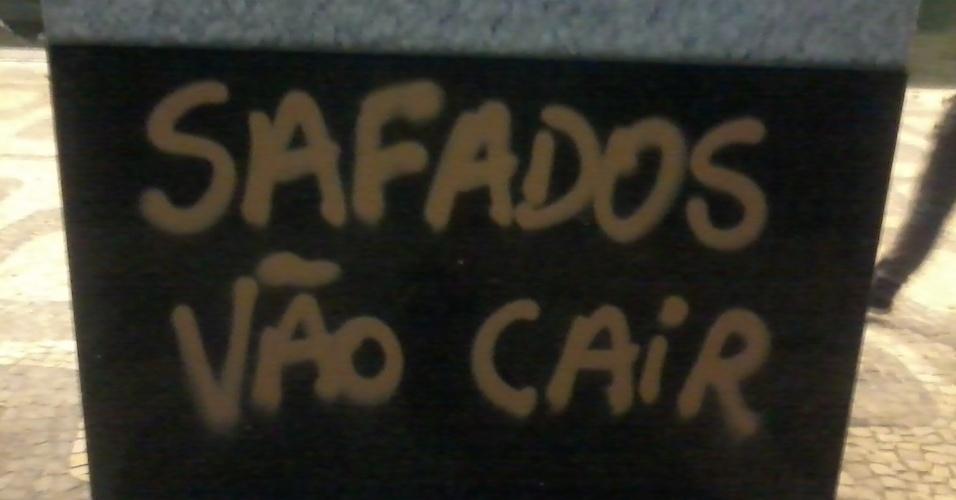 20.jun.2013 - O internauta Marcos Roque registrou os protestos no Rio de Janeiro.