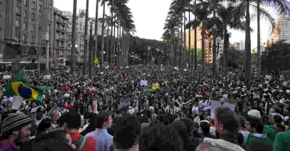 Protestos pelo Brasil - 2013 - Sebastião Moreira/EPA