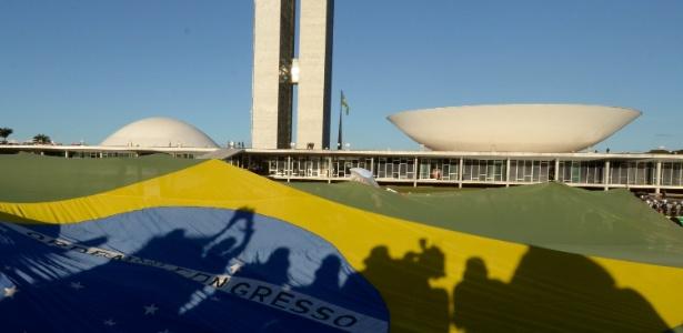 Câmara dos Deputados (prédio da direita do Congresso Nacional): novo presidente terá amplos poderes - Pedro França - 26.jun.2013/Futura Press