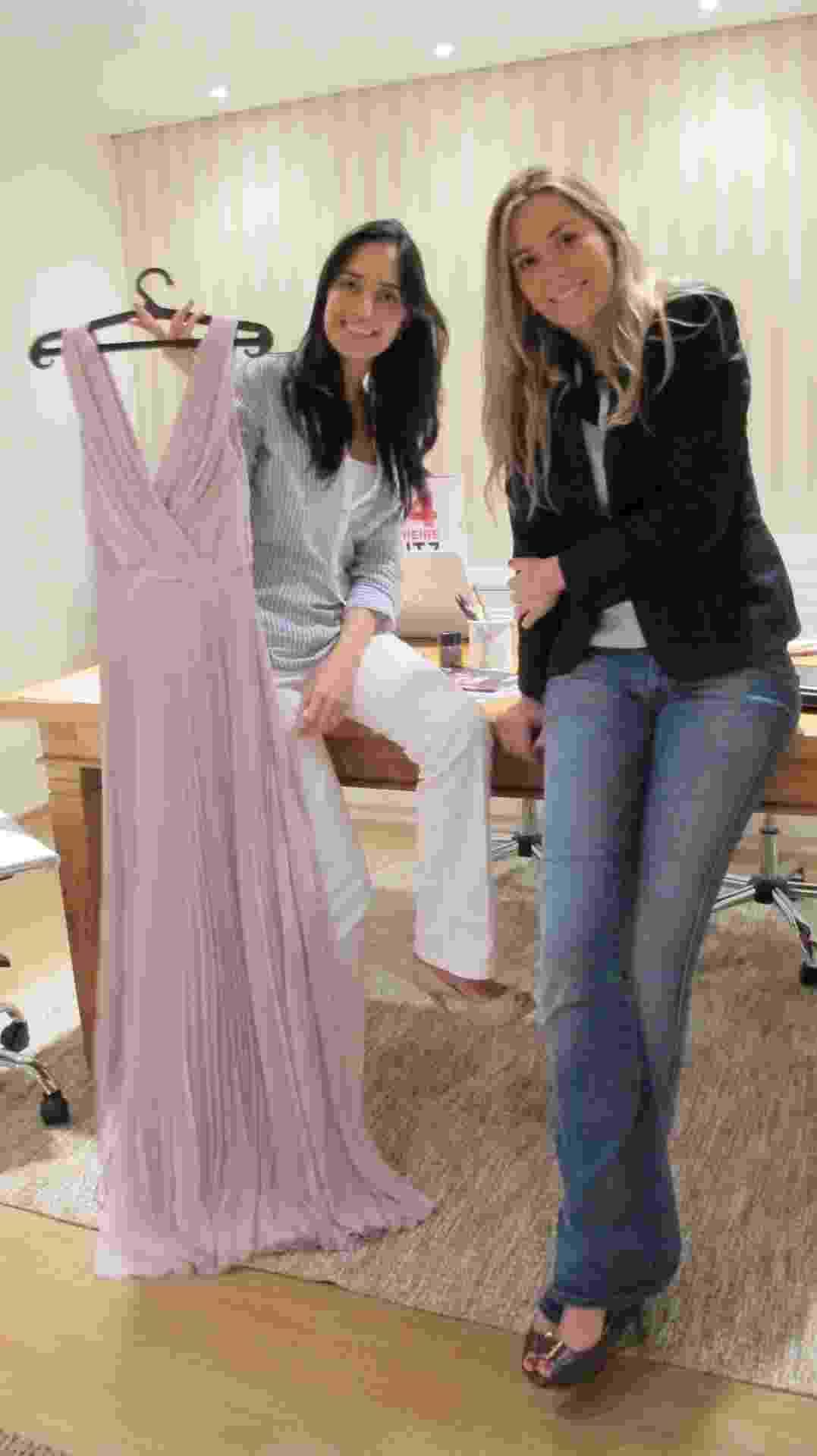 Empreendedoras Mariana Penazzo e Barbara Diniz, fundadoras da empresa de aluguel de vestidos de grife Dress&Go - Divulgação