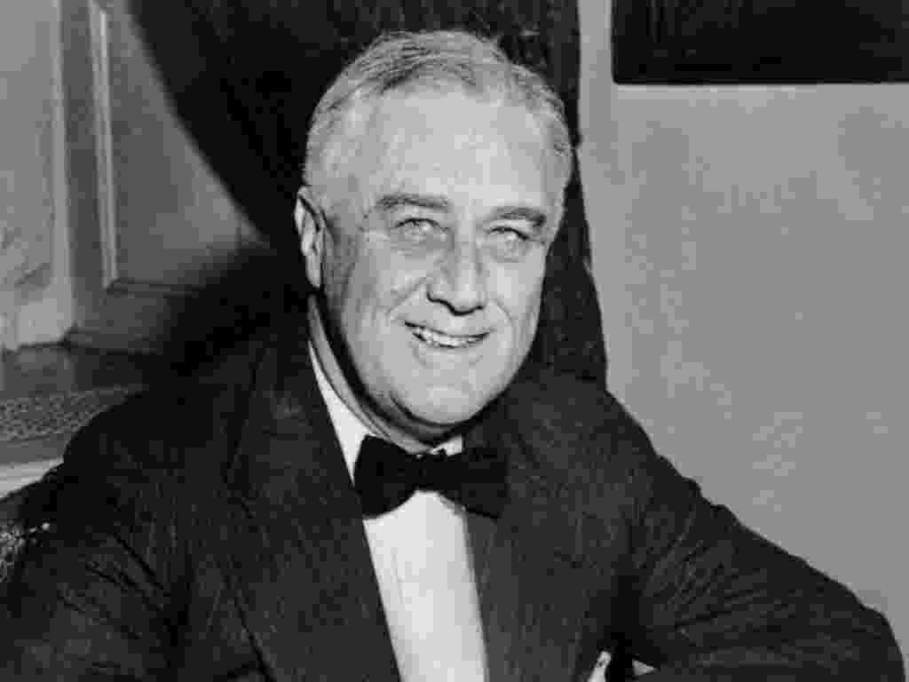 Franklin Delano Roosevelt (1882 - 1945) - AFP
