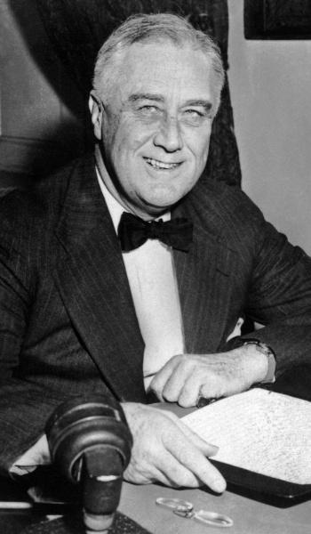 Franklin Delano Roosevelt (1882 - 1945)