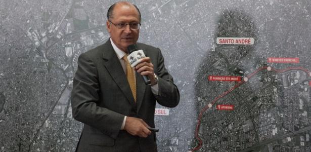 A maior parte da campanha do governador Geraldo Alckmin foi paga por empresas investigadas por participação em carteis do metrô
