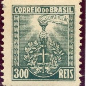 selo do período da revolução constitucionalista de 1932