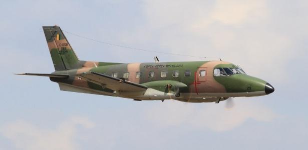 Avião de transporte modelo C-95A Bandeirante - Agência Força Aérea/Sgt Johnson