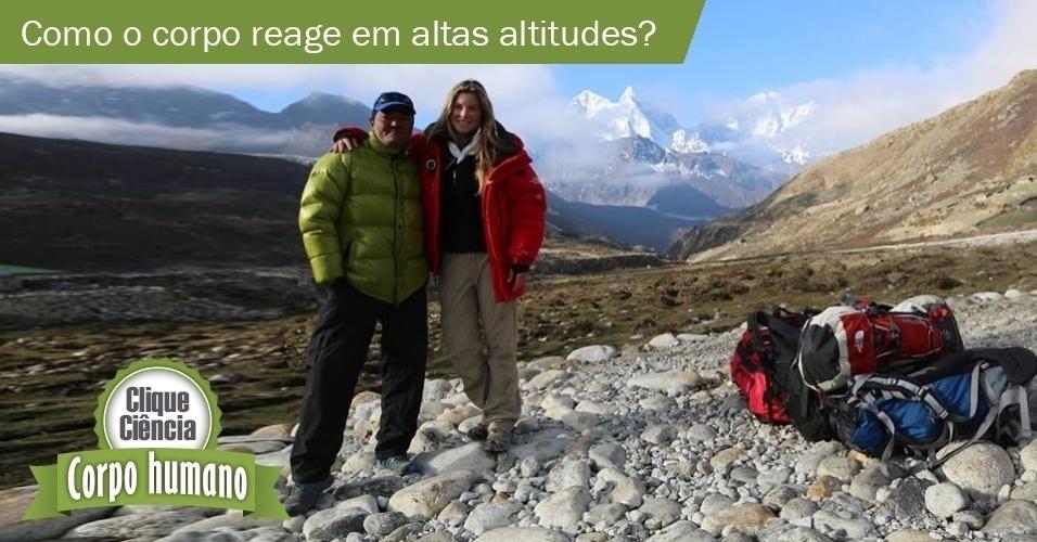8.jul.2013- Clique Ciência: Como o organismo reage às diferenças de altitude?