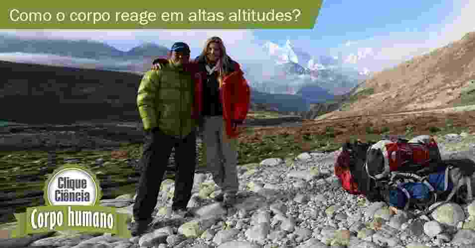 8.jul.2013- Clique Ciência: Como o organismo reage às diferenças de altitude? - Arquivo pessoal de Karina Oliani/UOL