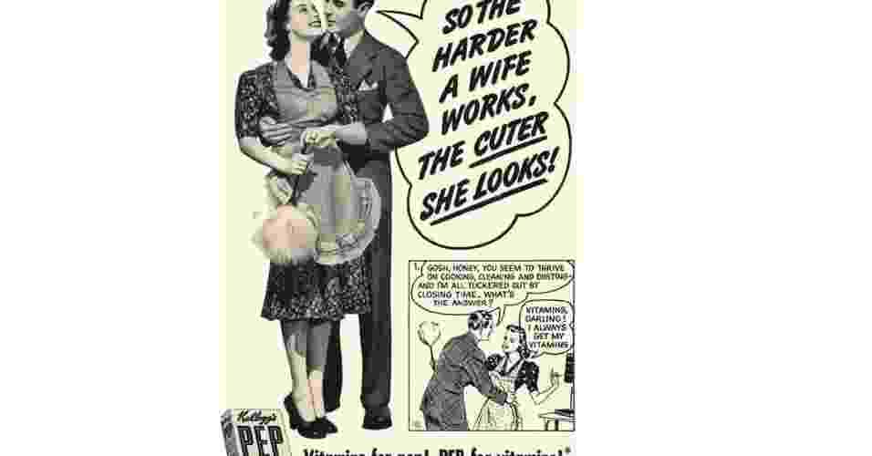 Propaganda antiga do produto da vitamina Peps (matéria sobre propagandas politicamente incorretas do passado) - Reprodução