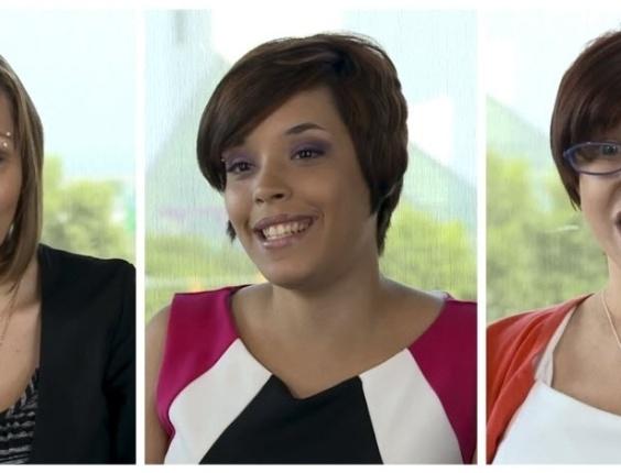 9.jul.2013 - Três mulheres que foram mantidas em cativeiro durante 10 anos no porão de uma casa em Cleveland, Ohio (EUA), publicaram um vídeo na internet para agradecer a todas as pessoas que ofereceram apoio. Essa é a primeira declaração pública desde que foram libertadas