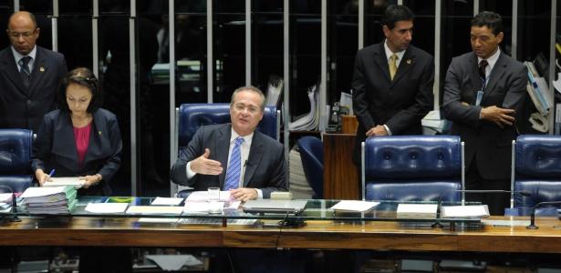 O presidente do Congresso, Renan Calheiros (PMDB-AL): agora cabe a ele dar sequência na abertura da CPI