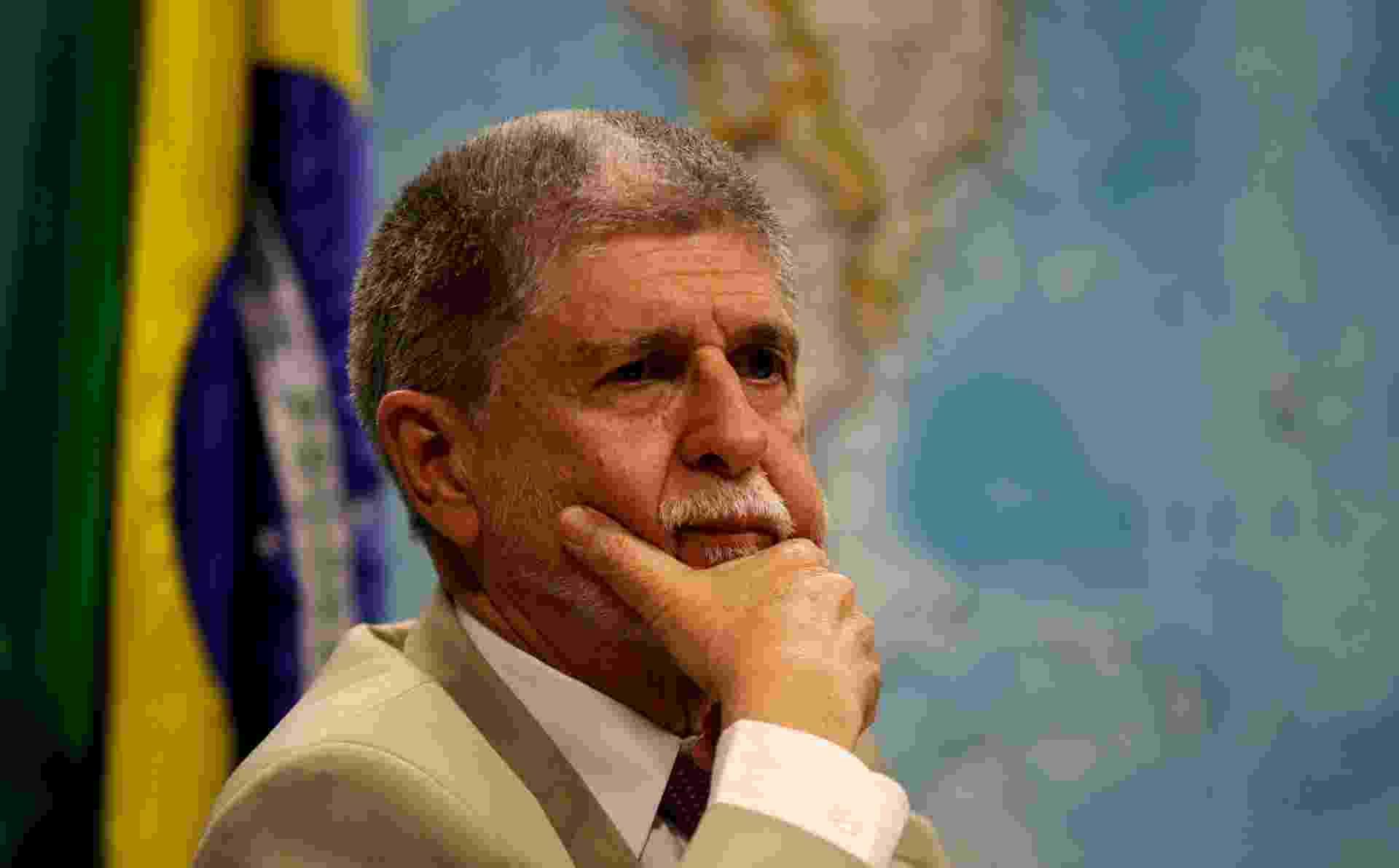 Comissão de Relações Exteriores do Senado ouve o ministros da Defesa, Celso Amorim, sobre o escândalo de espionagem do governo dos EUA no Brasil - Pedro Ladeira/Folhapress