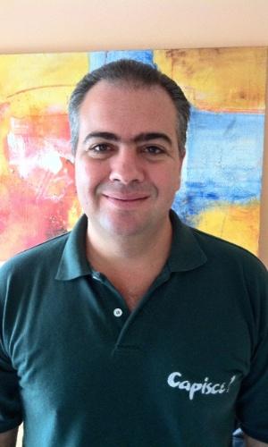 Alexandre Tuzzolo Paulino, proprietário do restaurante de cozinha italiana Capisce
