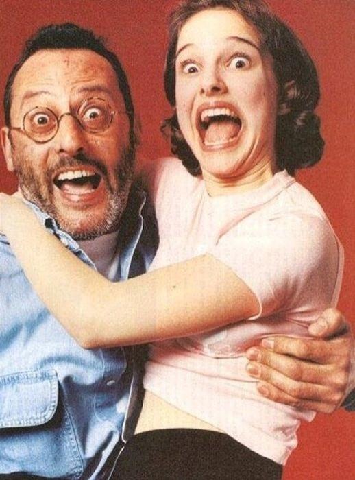 Jean Reno e Natalie Portman
