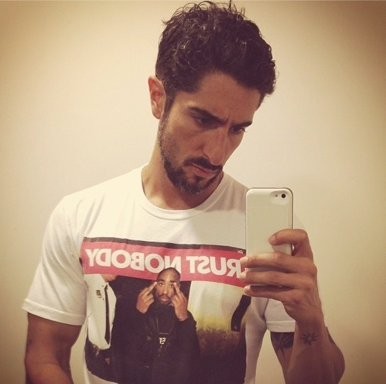O apresentador Marcos Mion (@marcosmion) adora publicar fotos ''selfies'' no Instagram