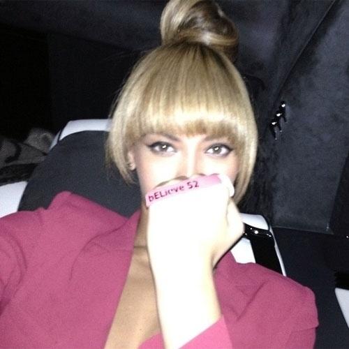 selfie autorretrato no instagram Beyoncé (@beyonce)