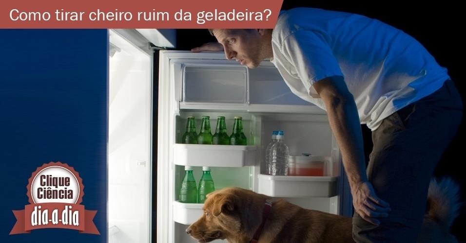 22.jul.2013- Clique Ciência: mau cheiro geladeira