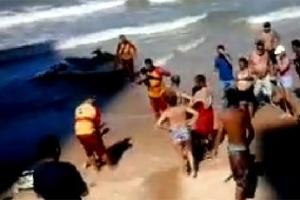 Turista atacada por tubarão em Boa Viagem teve parte da perna amputada, mas morreu nesta segunda-feira (22)