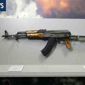 """Osama Bin Laden Shooting Ak 47 Museu """"secreto&qu..."""
