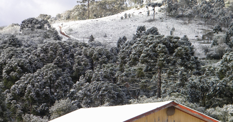 26.jul.2013 - A internauta Marivanda Bortoloso Pigatto enviou fotos do planalto norte de Santa Catarina, que integram o roteiro turístico dos Caminhos do Contestado