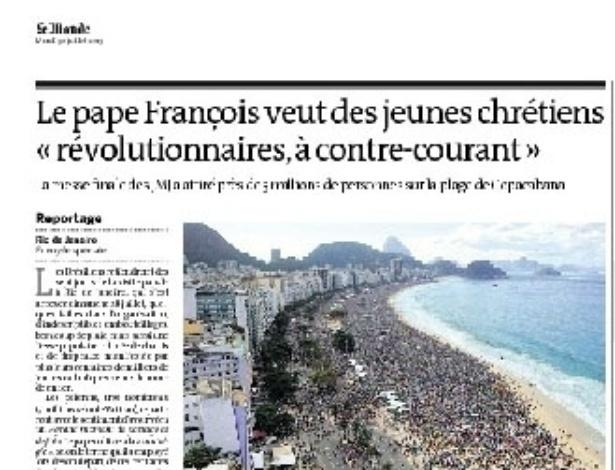 29.jul.2013 - Matéria do jornal francês