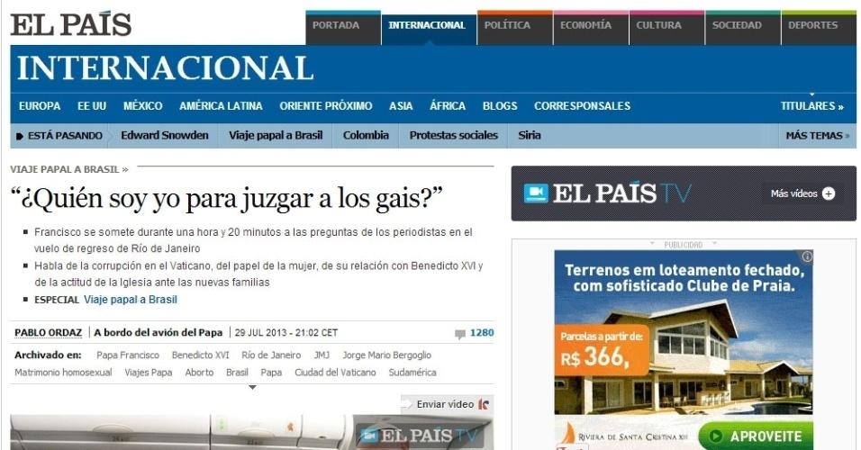 29.jul.2013 - Segundo periódico espanhol