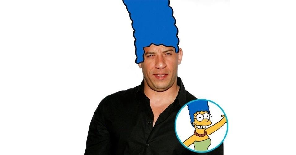 Vin Diesel ganhou o cabelo de diversas celebridades, tudo feito com a ajuda de editores de fotos