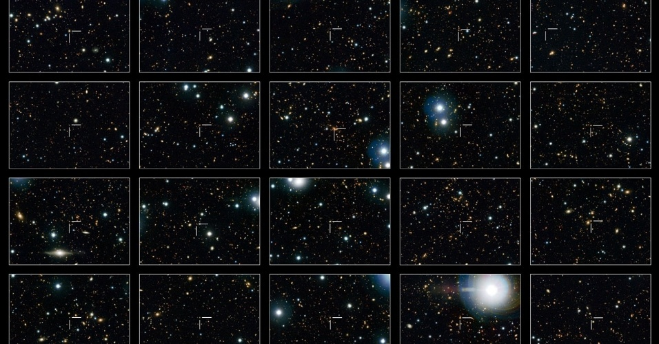 """1.ago.2013 - As galáxias se """"apagam"""" com o fim da formação de estrelas, mas algumas se mantêm grandes como se tivessem evoluindo, algo que sempre intrigou os astrônomos. Mas observações do telescópio Hubble divulgadas nesta quinta-feira (1º) desvendaram o mistério. O grupo da da Universidade de Zurique, na Suíça, identificou 20 galáxias """"desligadas"""" ao longo dos últimos 8 bilhões de anos, quando o cosmos tinha menos da metade da sua idade atual, e descobriu que as galáxias eram grandes desde o começo. """"Nós achamos um grande número de galáxias maiores que se desligaram mais tarde, juntando a seus irmãos menores e dando a impressão equivocada de crescimento galáctico ao longo do tempo"""", explica Simon Lilly, um dos coautores do estudo publicado no """"Astrophysical Journal"""""""