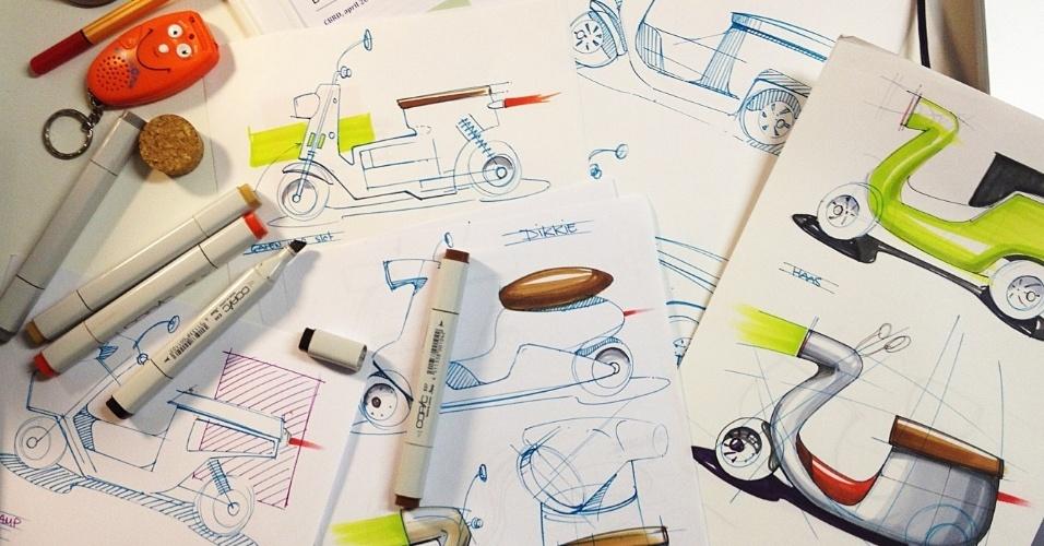 2.ago.2013 - A Be.e é um projeto da start-up holandesa Van.eko em conjunto com a firma de design Waarmakers, a fabricante de bioplástico Nabasco e um grupo de pesquisadores da Universidade de Ciências Aplicadas Inholland