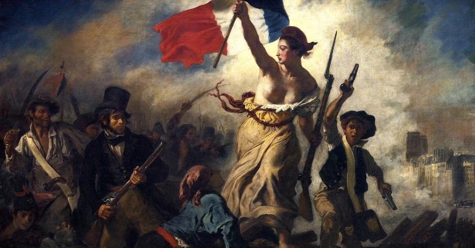 A liberdade conduzindo o povo
