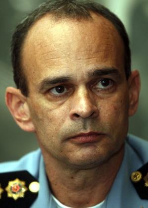 O coronel José Luís Castro Menezes, 47, novo comandante-geral da Polícia Militar