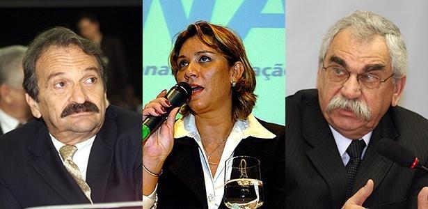 Alberto Fajerman, Denise Abreu e Marco Aurélio Castro, julgados por atentado contra a segurança aérea - Raimundo Pacco e Alan Marques/Folhapress