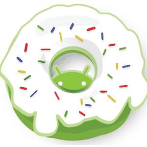 Na imagem, a versão oficial do Android 1.6 Donut. Os símbolos das versões do sistema, que são representados por doces, ganharam estilos diferentes nas mãos dos usuários - Reprodução/Edureka.in