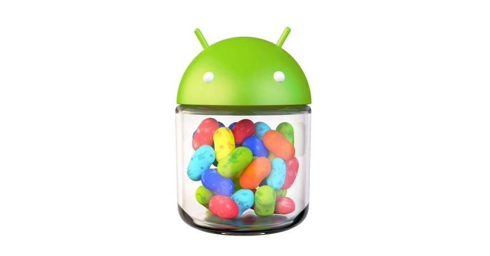 Na imagem, a versão oficial do Android 4.2 Jelly Bean. Os símbolos das versões do sistema, que são representadas por doces, ganharam estilos diferentes nas mãos dos usuários