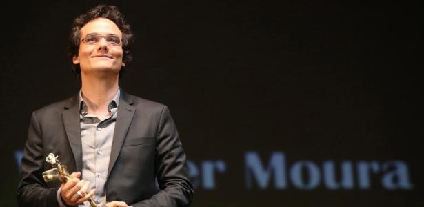 O ator Wagner Moura durante homenagem no Festival de Gramado 2013 - Diego Vara/Agência RBS/Estadão Conteúdo