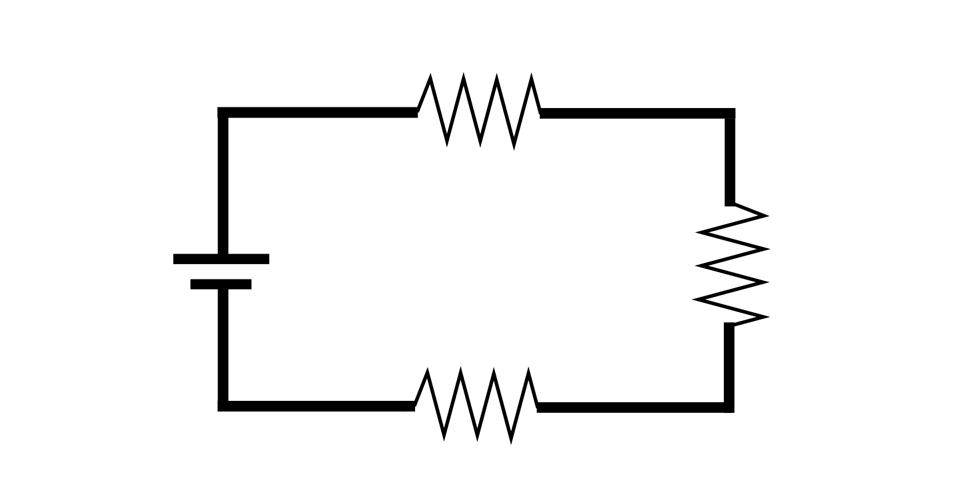 Circuito série, física, circuito elétrico