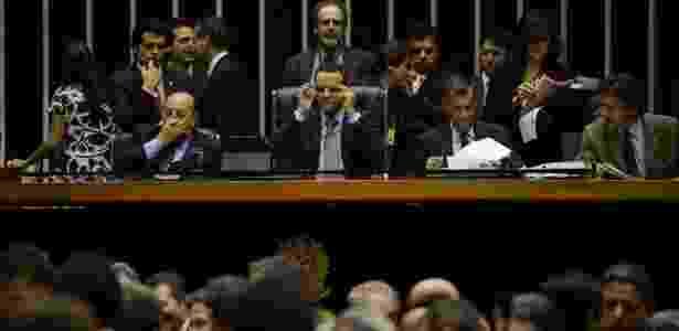 Sessão da Câmara dos Deputados que aprovou projeto de lei que destina os royalties para a educação - Fabio Rodrigues Pozzebom/ABr