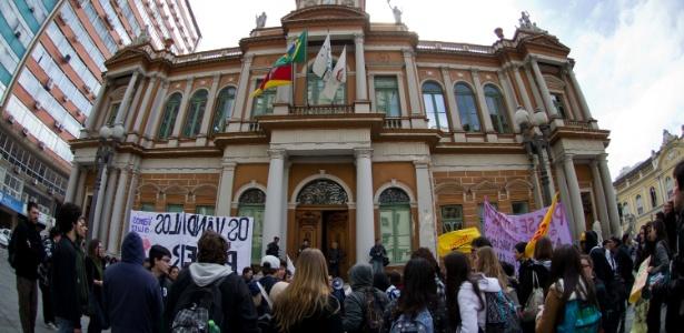 Sede da Prefeitura de Porto Alegre, cidade com a maior nota no ranking do MPF